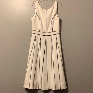 White House Black Market Aline White Dress